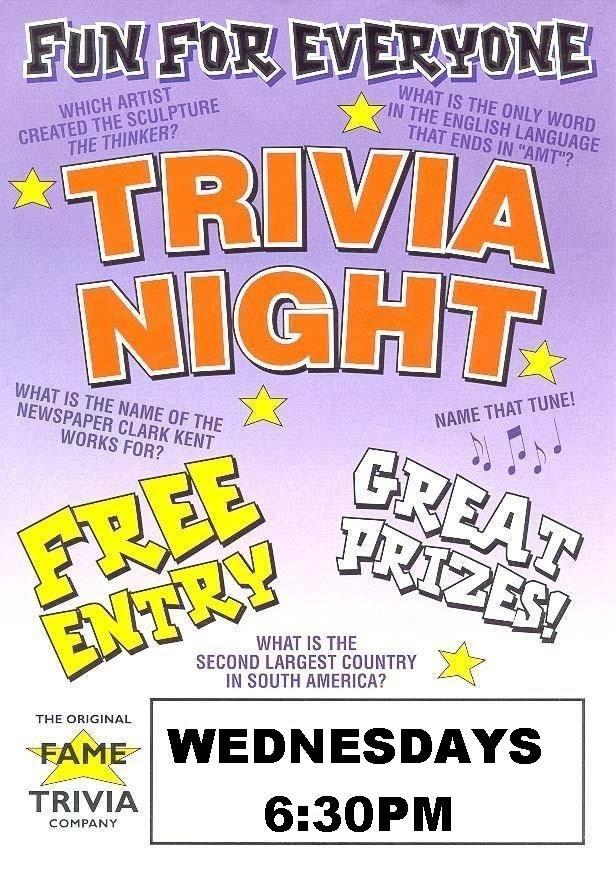 Capalaba Trivia - Wednesday 6:30pm @ Capalaba Tavern | Capalaba | Queensland | Australia
