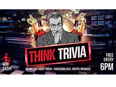 Harlequin Jack – Brisbane Sofitel – Wednesday 6pm