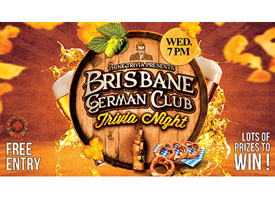 The Brisbane German Club – Wednesday 7pm
