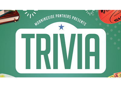 Morningside Panthers – Trivia – Wednesday 7pm